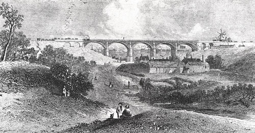 Ouseburn c.1840 (Newcastle Libraries)