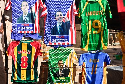 Obama als Fussballshirt