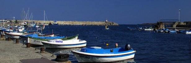 Морской порт Царево, Болгария