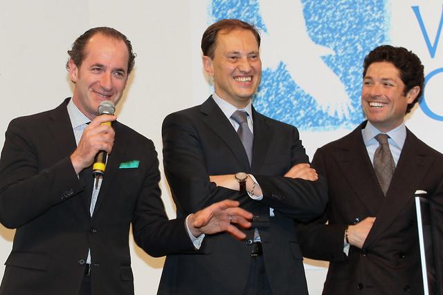 Con Luca Zaia e Matteo Marzotto