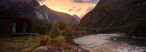Milford Sound Lodge Pano