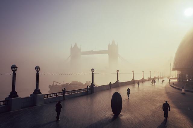 Tower Bridge, Morning Fog