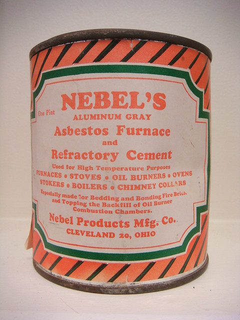 High Heat Asbestos Furnace Cement