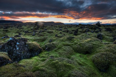 Yesterdays sunrise in Iceland near Bifrost University