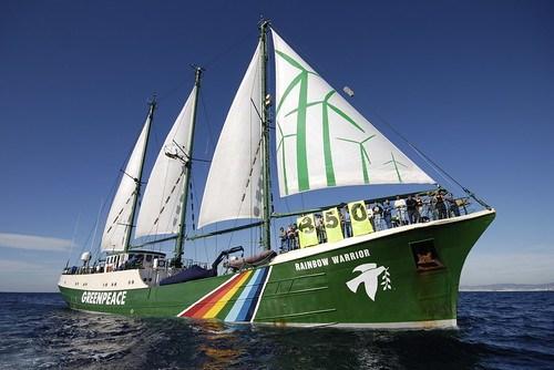 Greenpeace Rainbow Warrior – Barcelona, Spain