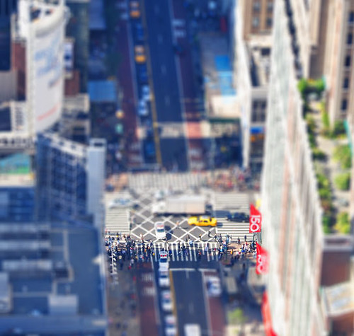 My attempt at Tilt-Shift photography
