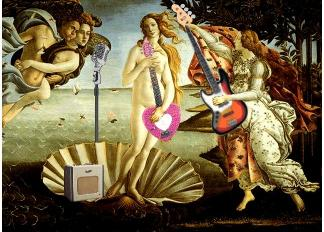 The Soundcheck of Venus, After Botticelli