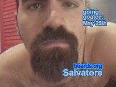 Salvatore: going goatee, part 4