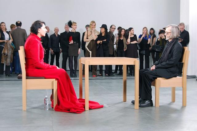 Marina Abramović, The Artist Is Present, 2010