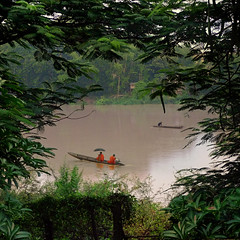 Lazy river life in Laos