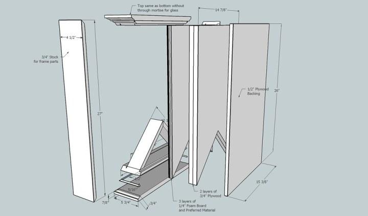Military shadow box frame plans for Shadow box plans pdf