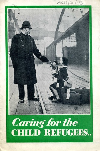 Front Page of 'Caring for the Child Refugees' Booklet, c.1940