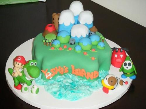 Tenetemi la mano… (torta SuperMario)