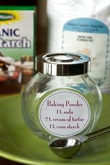 Recipe for Homemade Baking Powder