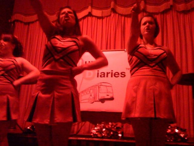 The Cock-TS cheerleaders