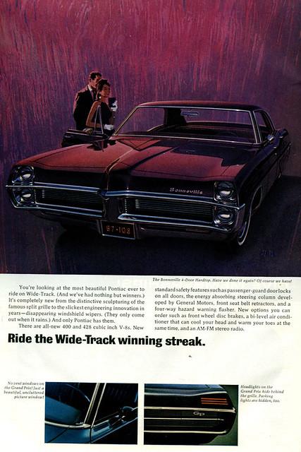 1967 Pontiac Bonneville Ad