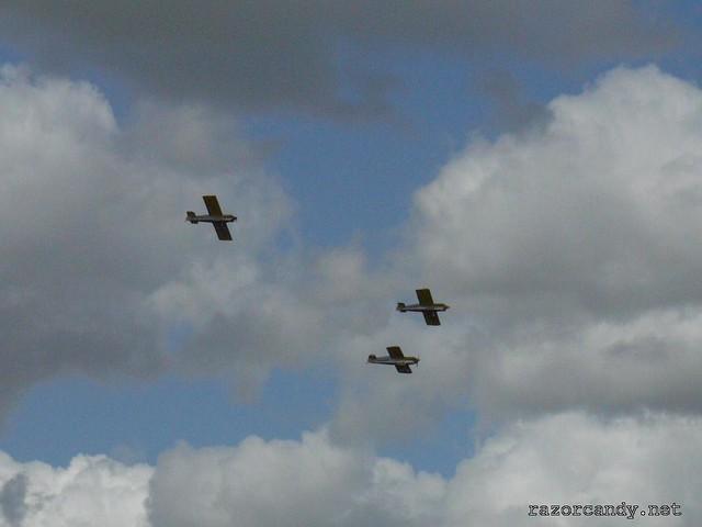 7 P1080470 Cassutt IIIM Racers {G-BOMB} {G-BPVO} {G-RUNT} _ City Airport - 2008 (5th July)