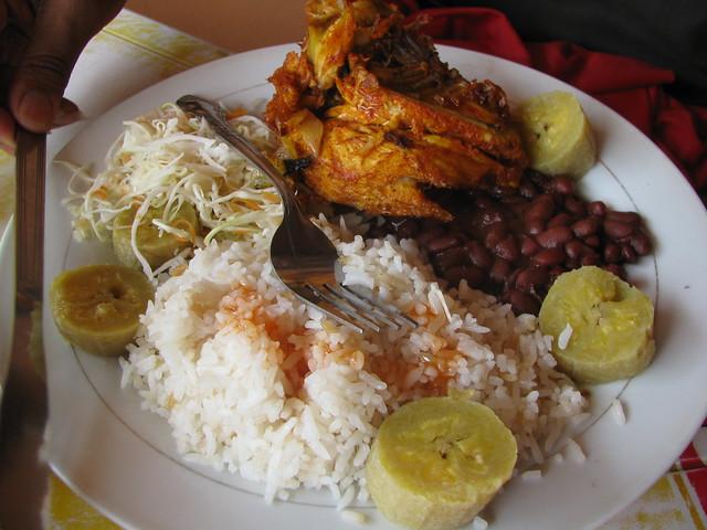 Lunch on Ometepe