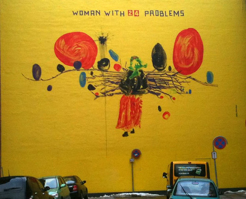 Woman with 24 problems