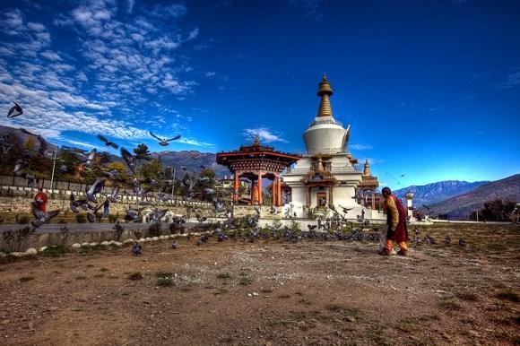 Thimphu National Memorial Chorten