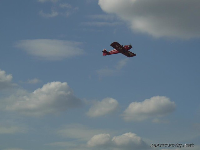 14 P1130846 Druine D.31 Turbulent  {G-APVZ} _ City Airport - 2009 (4th July)