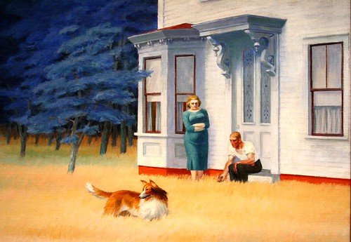 """Cape Cod Evening"" (1939), de Edward Hopper - Foto: Alaskan Dude, en Flickr"