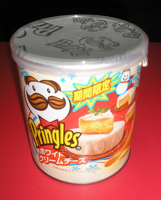 """White Cream Cheese"" Pringles (for Christmas)"