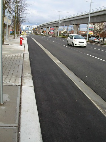 Raised Bike Lane No 3 Road