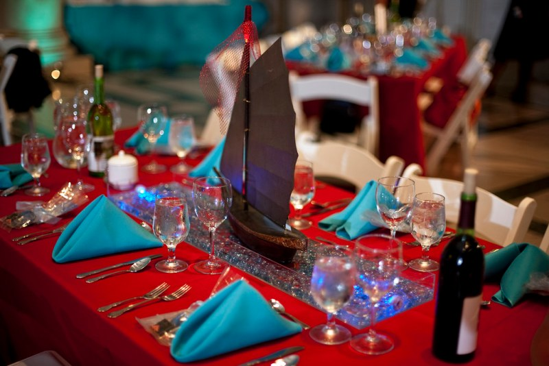 Floating Ship Centerpiece