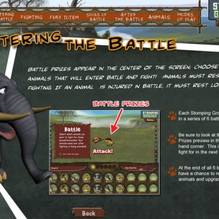 enter the battle - early version