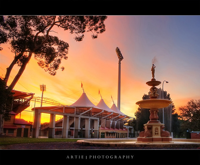 The Adelaide Oval, South Australia :: HDR