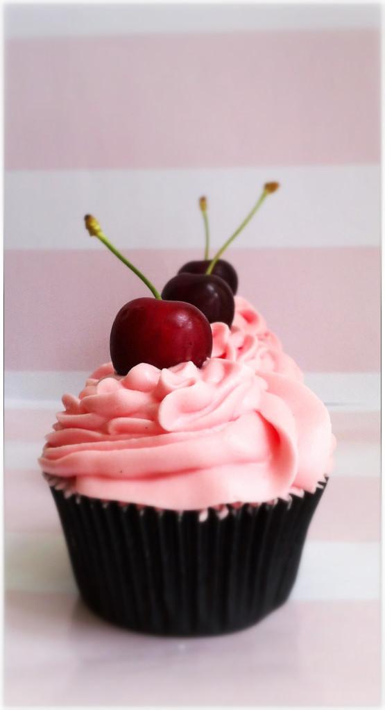 Cupcakes de cereza, the art of cupcakes