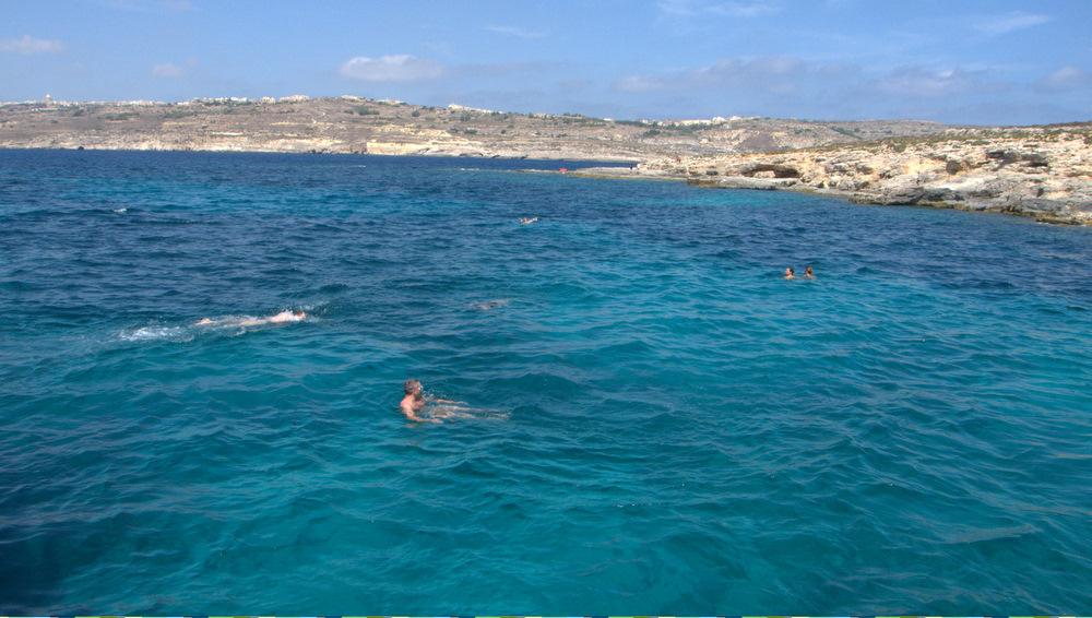 Boat Tour Around the Malte Island