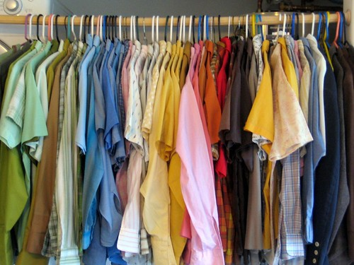 Hanging Your Vintage Clothes