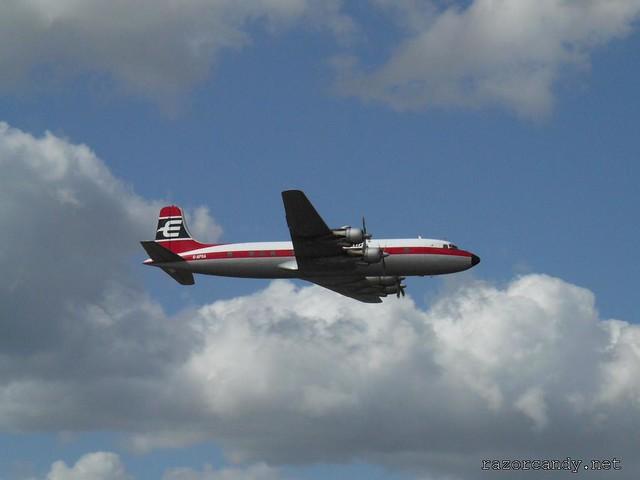 22 P1080622 British Eagle Douglas DC-6 {G-APSA} _ City Airport - 2008 (5th July)