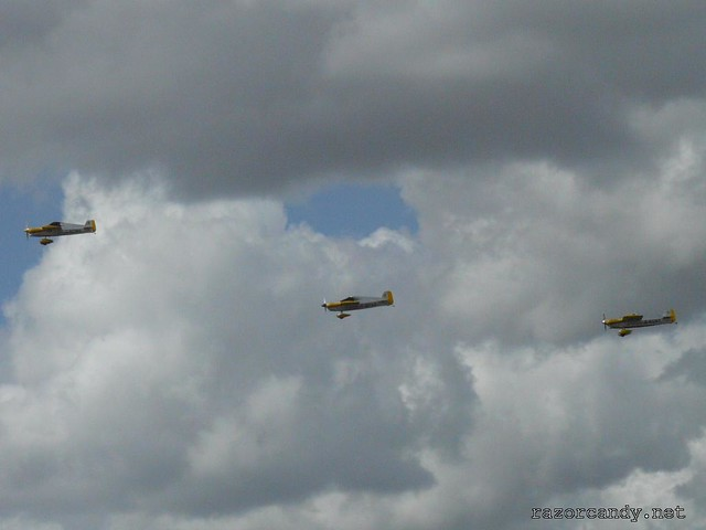 12 P1080480 Cassutt IIIM Racers {G-BOMB} {G-BPVO} {G-RUNT} _ City Airport - 2008 (5th July)