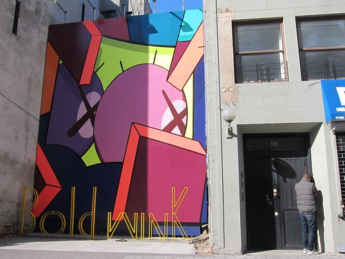 KAWS and David Byrne