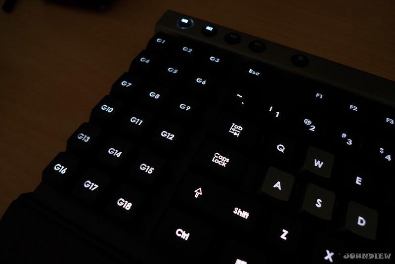 Corsair Raptor K30 and K50 Gaming Keyboards 42