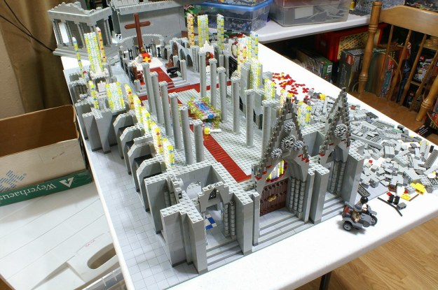 Cathedral of St. Francis WIP 12