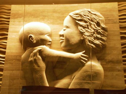 NMNH_Paleo Mother & Child