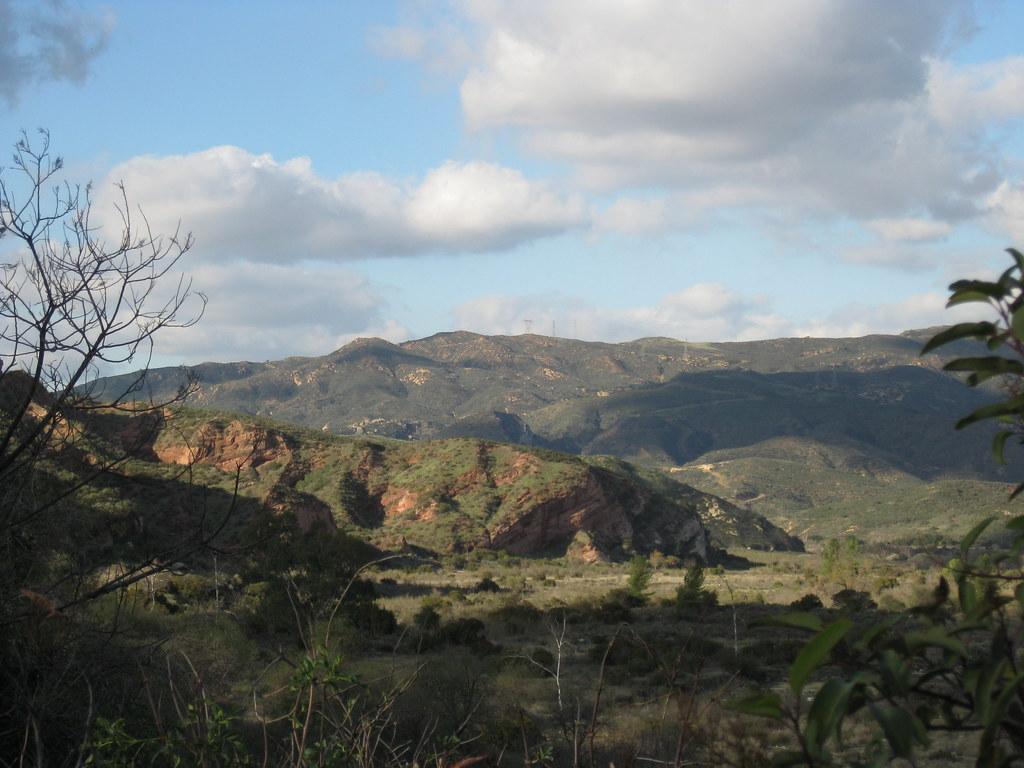 Santiago Canyon Layers