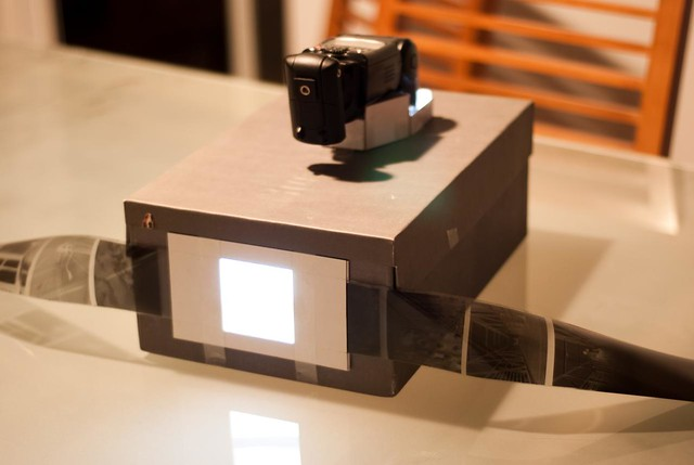 LightBox DiY Film Scanner