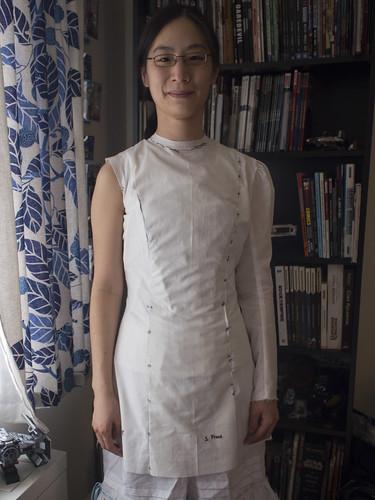 1910 Dress Mockup