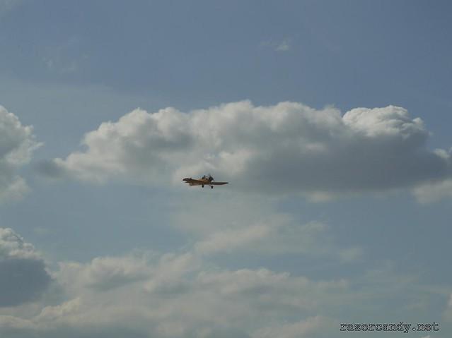 29 P1130875 Druine D.31 Turbulent  {G-ARBZ} _ City Airport - 2009 (4th July)