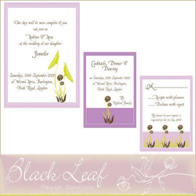 Hyacinth Card Set