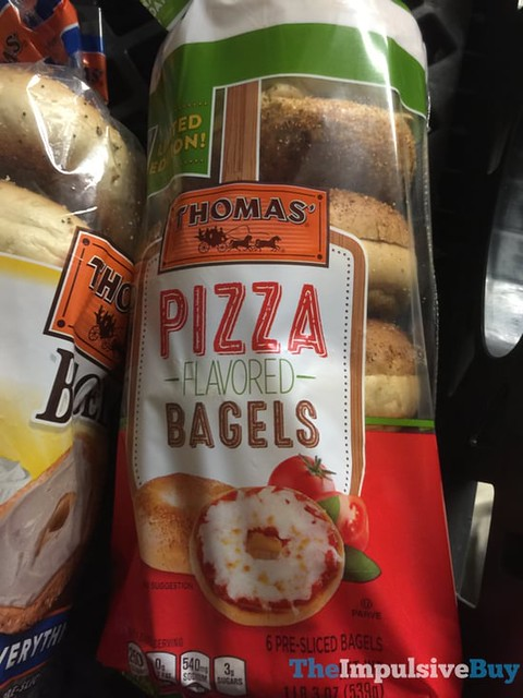Thomas Pizza Flavored Bagels