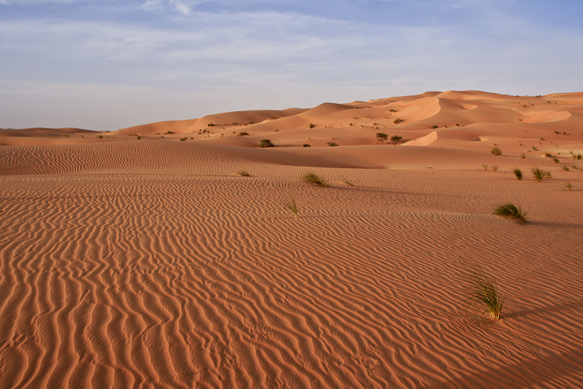 ... nur Sand.