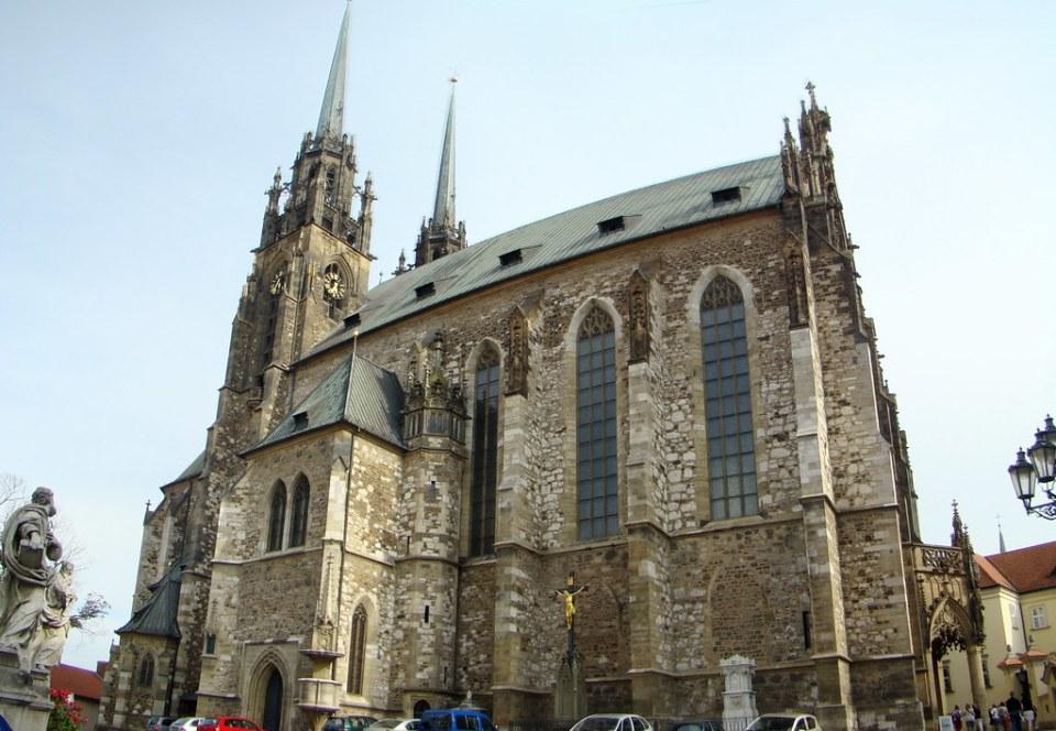Chequia Catedral de San Pedro y San Pablo en Brno 01
