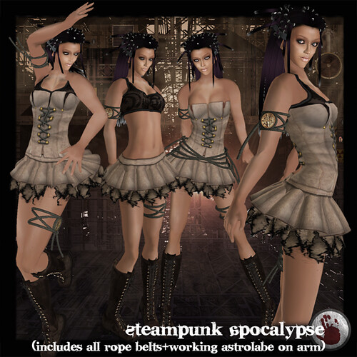 *League* Steampunk Apocalypse