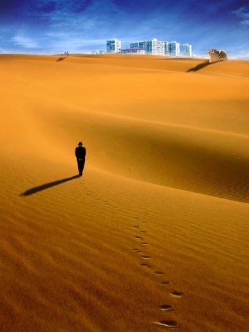 Walking home one evening in 2074 Paul wondered about the scientific breakthrough reversing the effects of climate change and its impact on his beach condo investment